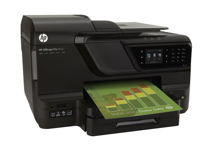 HP Officejet Pro 8600 Multifunction Inkjet Printer (CM749A)