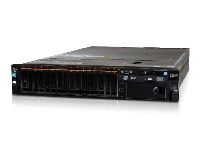 IBM System x3650M4 Quad-Core E5-2609 24Ghz/4GB