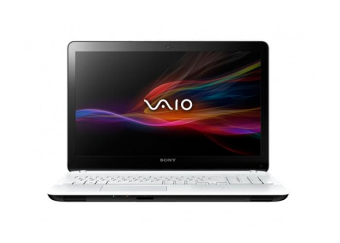 Laptop Sony Vaio Fit SVF1521DSG (Trắng/Đen)